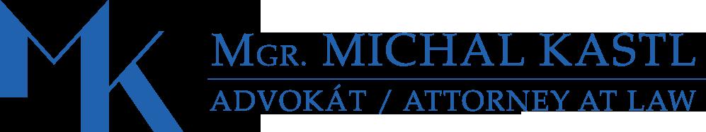 Mgr. Michal Kastl, advokát