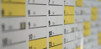 daňový kalendář